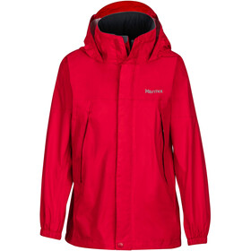 """Marmot Boys PreCip Jacket Team Red"""